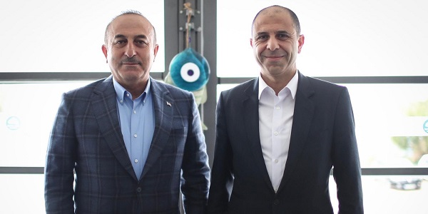 Meeting of Foreign Minister Mevlüt Çavuşoğlu with Deputy Prime Minister and Foreign Minister Kudret Özersay of Turkish Republic of Northern Cyprus (TRNC) 11 March 2019