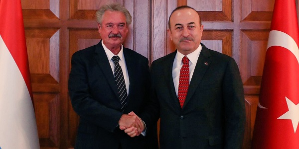 Meeting of Foreign Minister Mevlüt Çavuşoğlu with Jean Asselborn, Foreign and European Affairs Minister of Luxembourg, 14 January 2019