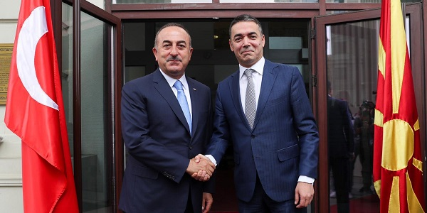 Visit of Foreign Minister Mevlüt Çavuşoğlu to North Macedonia, 15-16 July 2019