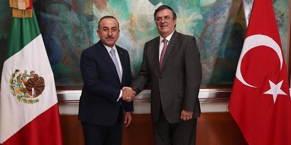 Visit of Foreign Minister Mevlüt Çavuşoğlu to Mexico, 18-20 May 2019