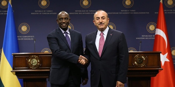 Meeting of Foreign Minister Çavuşoğlu with Minister of Foreign Affairs and International Cooperation Dr. Richard Sezibera of the Republic of Rwanda, 24 June 2019