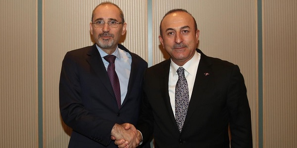 Minister Çavuşoğlu met with Minister Ayman Safadi of Jordan, 25 December 2018