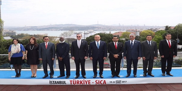 Turkey- SICA II. Foreign Ministers Forum held in Istanbul, 20 April 2017