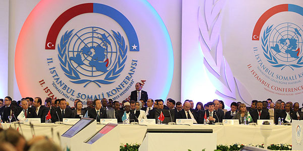 International community reaffirmed its support to Somalia in İstanbul.