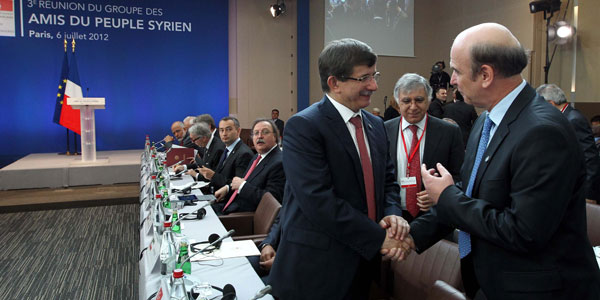 The Third Meeting of the Group of Friends of the Syrian People was held in Paris.