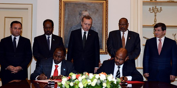 Historic Somalia Summit in Ankara. Presidents of Somalia and Somaliland met in Ankara.