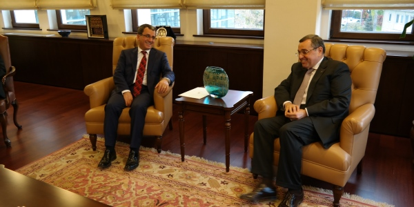 Deputy Foreign Minister Ambassador Yıldız received Ambassador of Azerbaijan