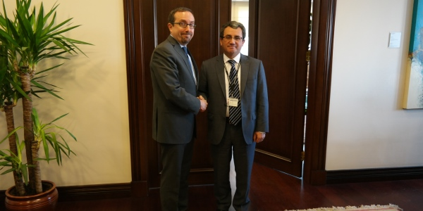 Deputy Foreign Minister Ambassador Yıldız received US Ambassador