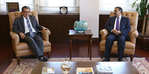 Deputy Foreign Minister Ambassador Ahmet Yıldız received Ambassador of Pakistan