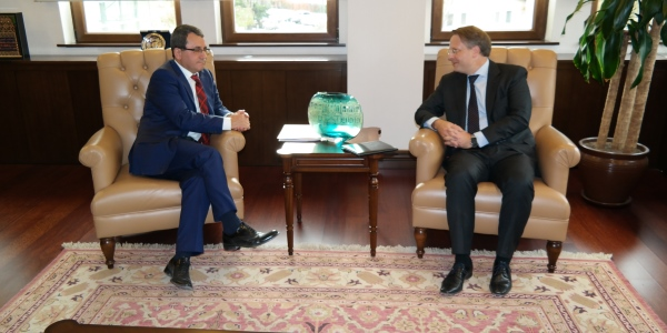 Deputy Foreign Minister Ambassador Yıldız received Ambassador of Denmark