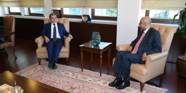Deputy Foreign Minister Ambassador Yıldız received Ambassador of Singapore