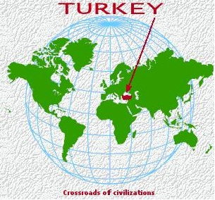 Promotion Of Turkey Abroad Rep Of Turkey Ministry Of Foreign - Where is turkey located